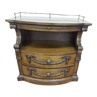 Karges French Style 2 Drawer Nightstand