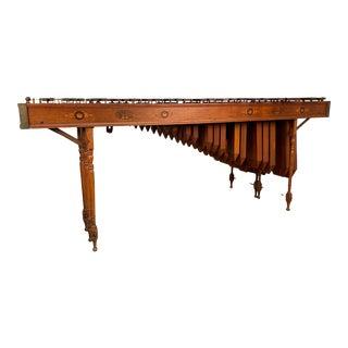 Edwardian Marquetry Marimba / Xylophone For Sale