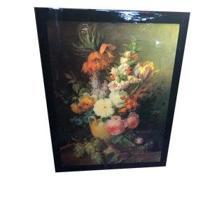 Acrylic Lacquered Italian Modern Artwork by Cornelius Van Spaendock For Sale