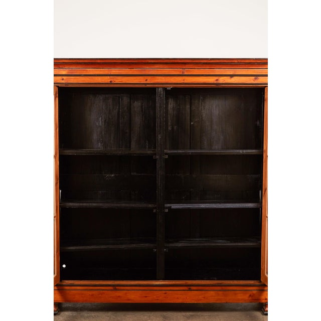 British Colonial 19th C. English Pine Cabinet For Sale - Image 3 of 6