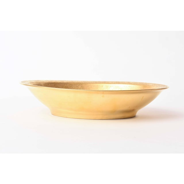 Pair of Gold Decorated Serving Bowls For Sale In West Palm - Image 6 of 11