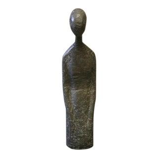 C.1965 Bronze Kneeling Woman Sculpture