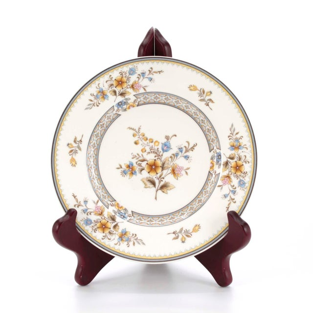 """Mikasa Vintage Mikasa Bone China in """"Chippendale"""" Pattern, Set of 32 For Sale - Image 4 of 8"""
