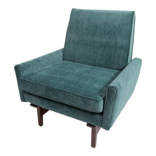 Jens Risom 1950's Sculpted Chair For Sale
