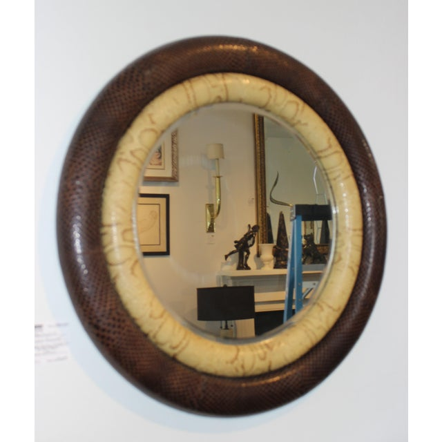 Python Mirror Double Bumper by Gene Jonson and Robert Marcius for Gun Agell For Sale - Image 9 of 12