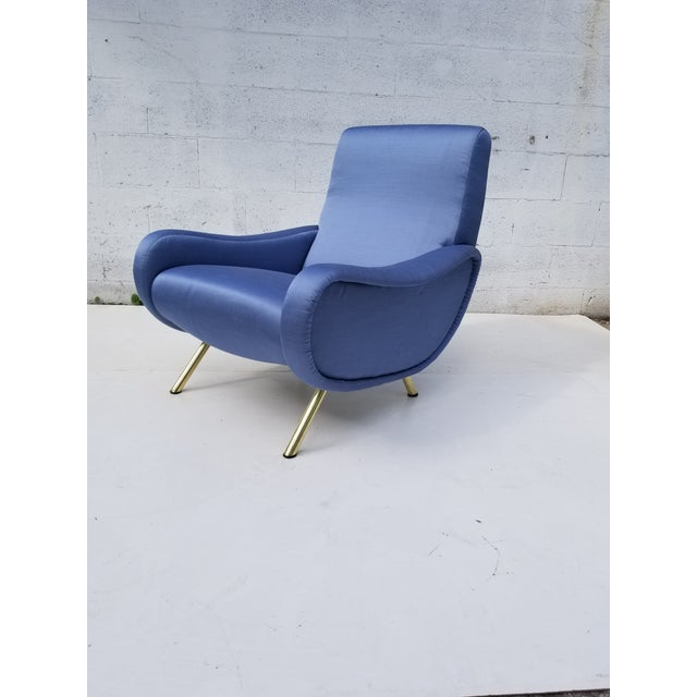 Mid-Century Modern Marco Zanuso Lady Chair- A Pair For Sale - Image 3 of 10