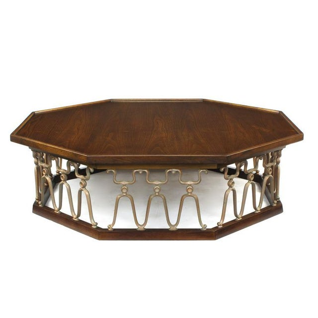 """Rare coffee table designed by John VanKoert for the """"Casa Del Sol"""" collection by Drexel. Excellent grain pattern on the..."""