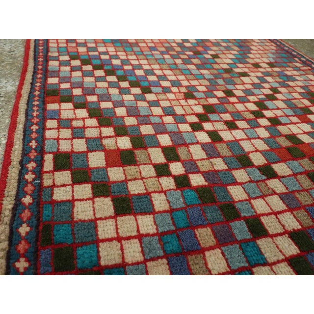 """Mid 20th Century Vintage Persian Mahal Rug – Size: 2' 5"""" X 4'10"""" For Sale - Image 5 of 11"""
