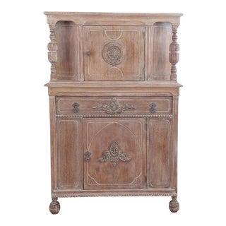Vintage Farmhouse Wood Cabinet