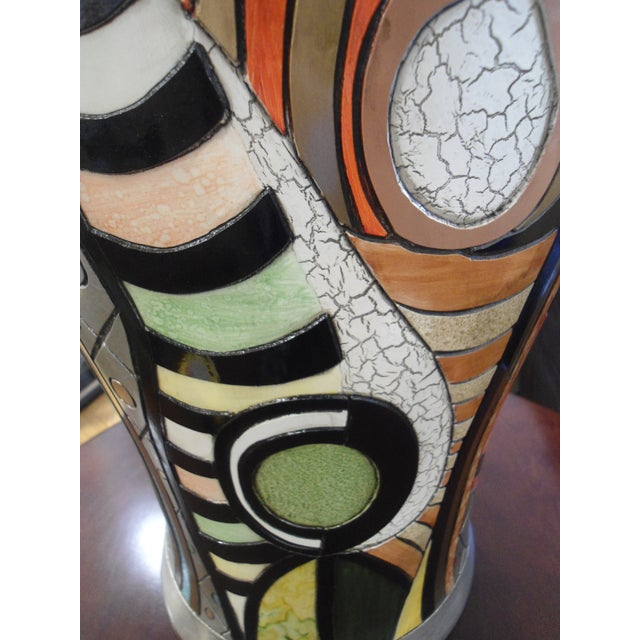 """Girl Before a Mirror"" Picasso Vase For Sale In Los Angeles - Image 6 of 7"