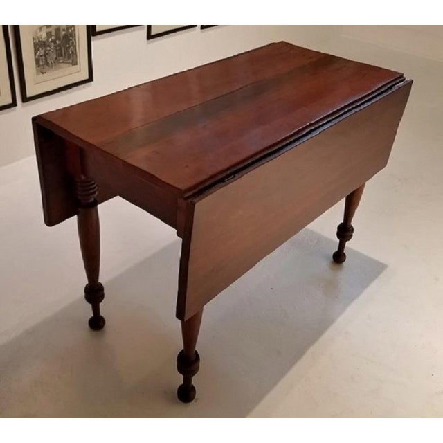19c Virginia Shaker Drop Leaf Table - With Provenance For Sale - Image 13 of 13
