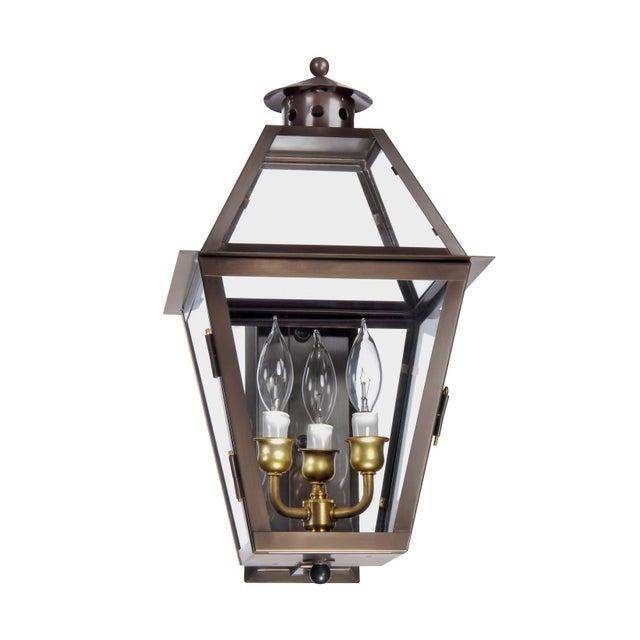 American Lantern & Scroll Charleston Collection Wall Mount Lantern For Sale - Image 3 of 3