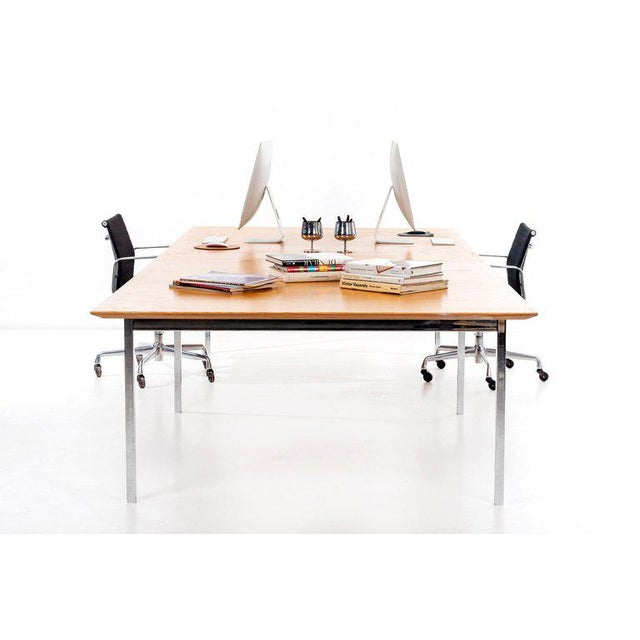 Knoll International Florence Knoll Custom Table For Sale - Image 4 of 10