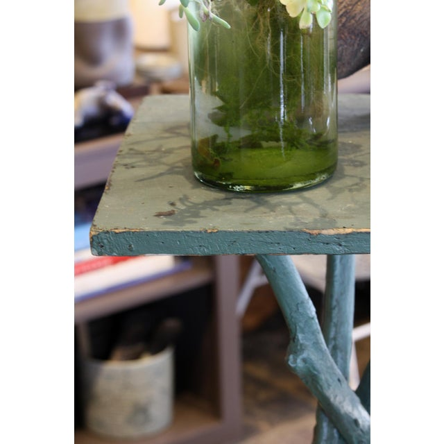 Vintage 3 Legged Branch Table - Image 4 of 4