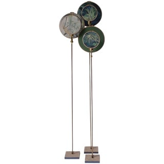 Ensemble of Three Floor Lamps, Sander Bottinga For Sale
