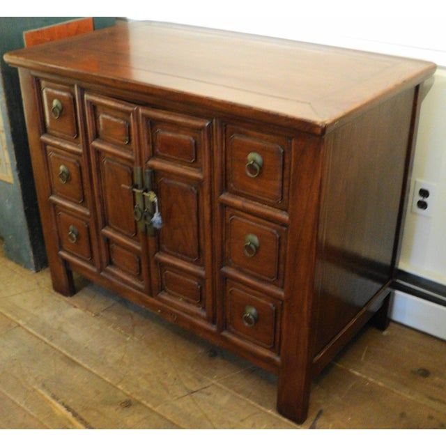 Vintage Asian Chinese Multi-Drawer Dresser - Image 5 of 7