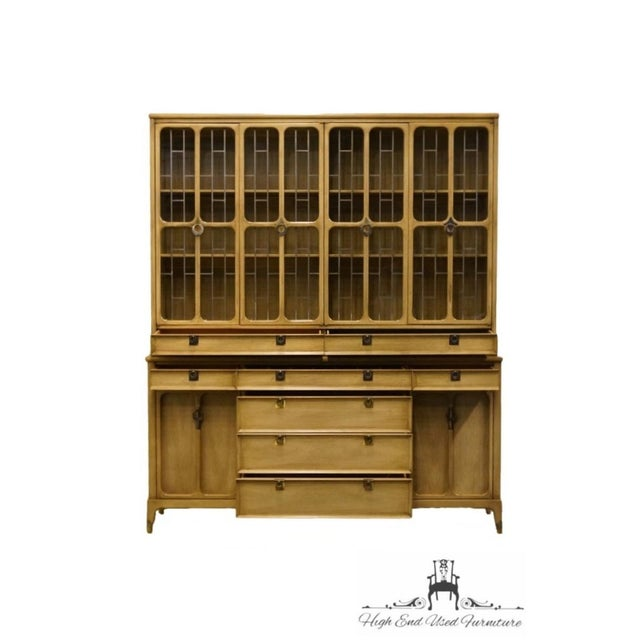 """Late 20th Century White of Mebane Contemporary French Style 67"""" China Cabinet For Sale - Image 5 of 13"""