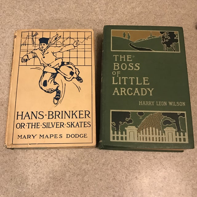Decorative Assorted Books - Set of 6 For Sale In Charlotte - Image 6 of 11