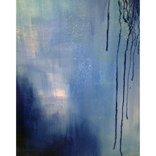Dolores Tema Dolores Tema, Neo Blue Painting, 2015 For Sale - Image 4 of 5