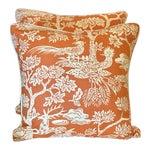 Turkish Quadrille Print Pillows - a Pair