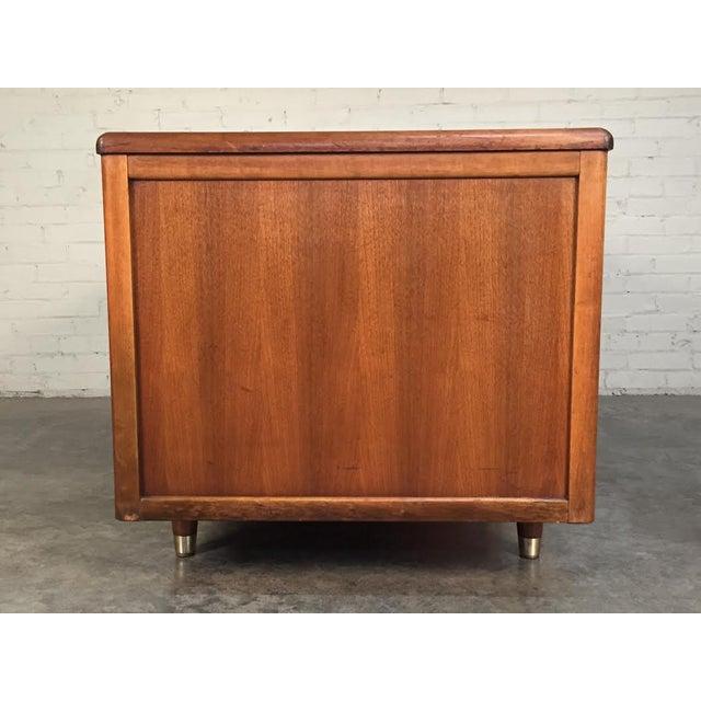 Jasper Mid-Century Modern Walnut Desk - Image 6 of 8