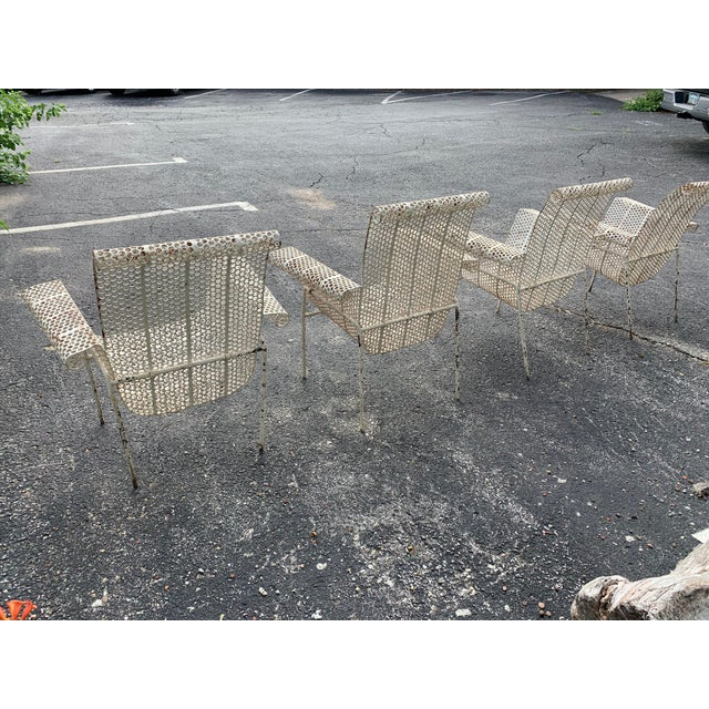 French Garden Chairs - Set of 4 For Sale - Image 9 of 10