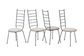 Image of Wrought Iron Dining Chairs