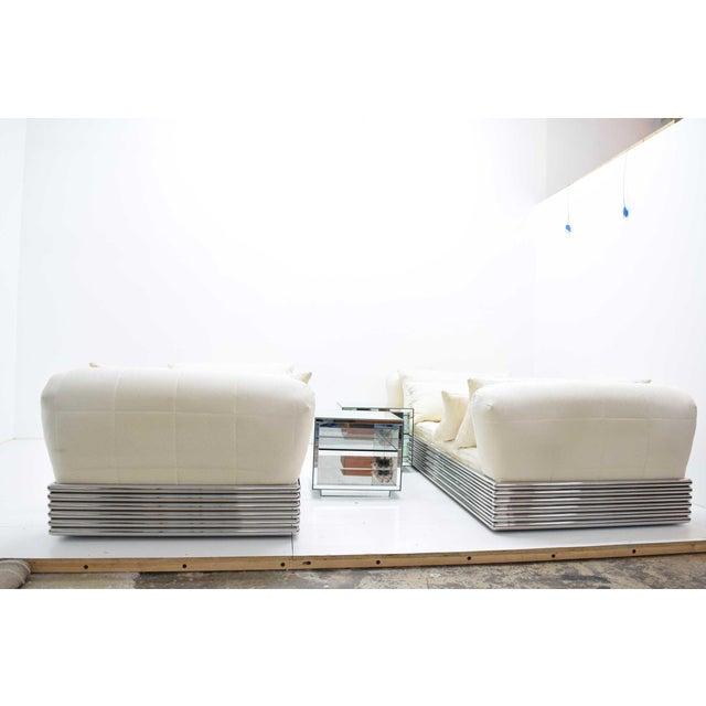 Mid-Century Modern Pair of Brueton Radiator Beds For Sale - Image 3 of 13