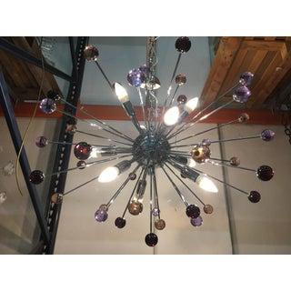 Chandelier Murano Glass Triedo Sputnik Multicolors Preview