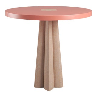 Danielle Natural Cerused Oak Side Table - Coral Gables For Sale
