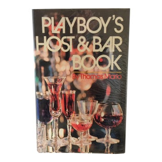 1971 Playboy's Host & Bar Book By Thomas Mario - First Edition