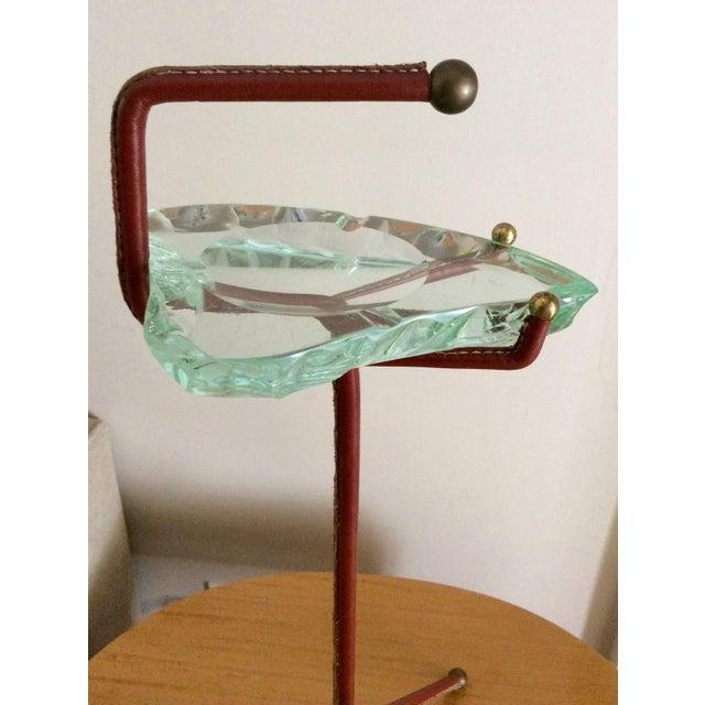 Smoking Stand With Fontana Arte Glass Ashtray - Image 3 of 6