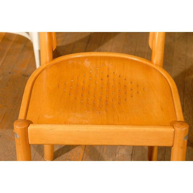 Wood Midcentury Beechwood Armchairs, Hans Wegner - Pair For Sale - Image 7 of 8
