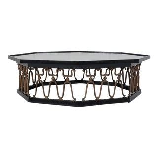 Octagonal Regency-Style Coffee Table