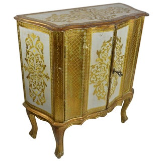 Antique Venetian Gold Dry Bar Cabinet Preview