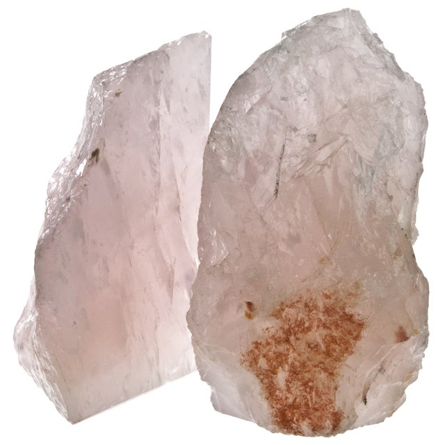 Rose Quartz Bookends - Pair - Image 3 of 4