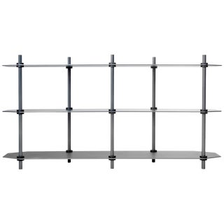 Hex Shelving in Anodized Aluminum Gradient For Sale