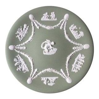 """Antique Wedgewood Jasperware """"Cupid"""" Plate For Sale"""