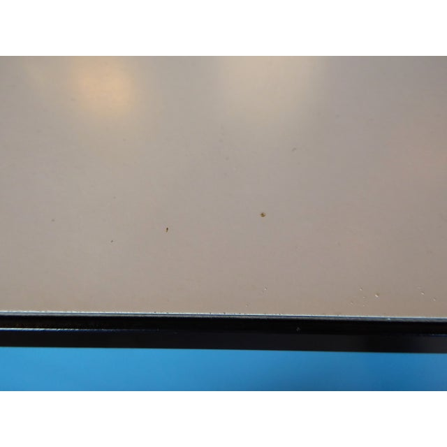 George Nelson Mid-Century Modern Steel Frame Blue and Black Dresser for Herman Miller, 1960s For Sale - Image 10 of 13