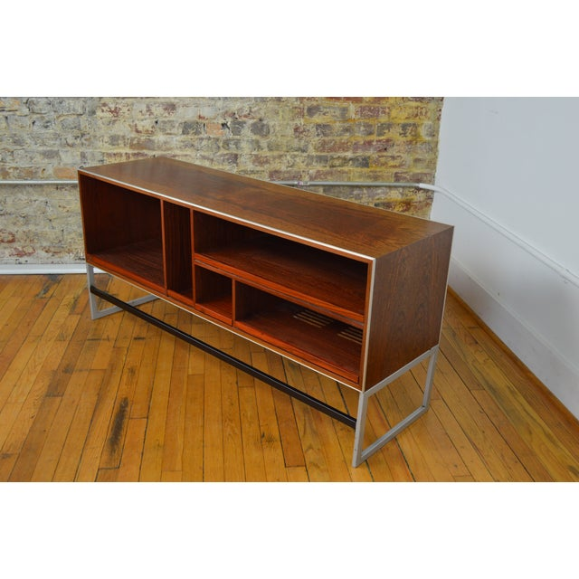 Red Bang & Olufsen Rosewood Console For Sale - Image 8 of 8