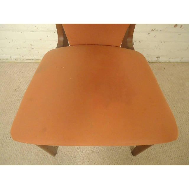 Adrian Pearsall Style Tall Back Chairs - a Pair - Image 6 of 7