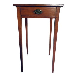 18th Century Hepplewhite Federal Era Side Table For Sale