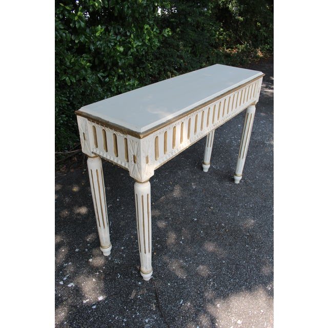 Early 21st Century Swedish Console Table For Sale - Image 5 of 7