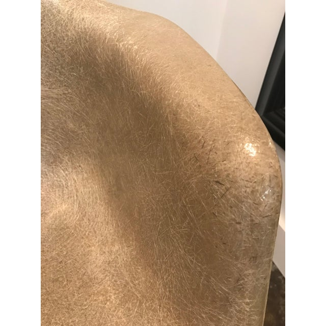 Tan 1950s Mid-Century Modern Eames for Herman Miller Zenith Shell Chair For Sale - Image 8 of 13