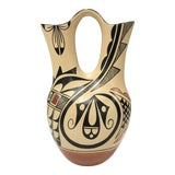 Image of Phyllis Tosa Jemez Native American Vase, Signed For Sale