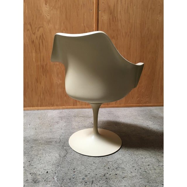Tan Vintage Mid Century Eero Saarinen for Knoll Dining Chairs- Set of 6 For Sale - Image 8 of 12