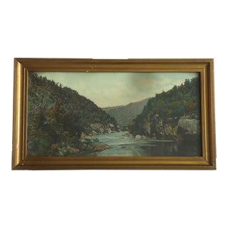 1930's Mountain Landscape Print