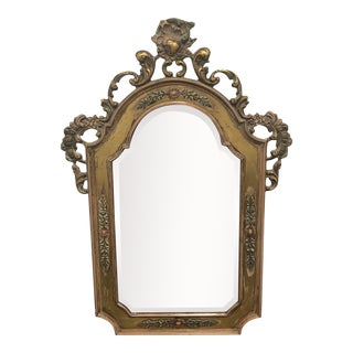 Victorian Style Wall Mirror by LaBarge For Sale
