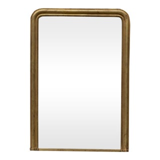 Gold Louis Phillipe Mirror Of A Large Size