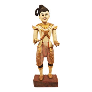 : Burmese Male Nat Figure For Sale